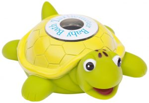Baby proof bathroom: Image of turtle bath thermometer