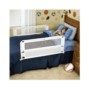 Toddler bed rails 2017: Regalo hide away bed rails on a toddler bed